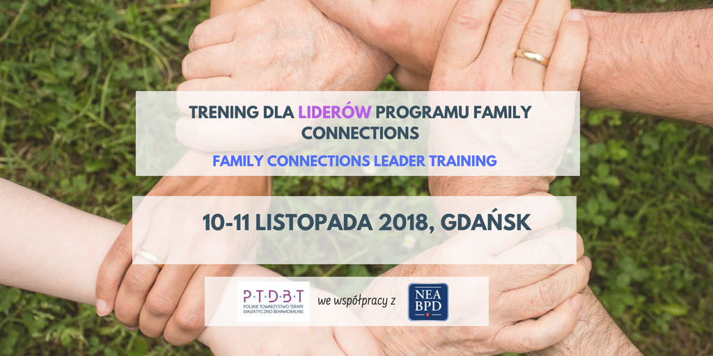 Trening dla liderów grup Family Connections