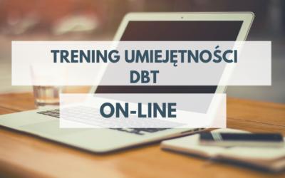 Trening Umiejętności DBT, ON-LINE, START 28.02.2020