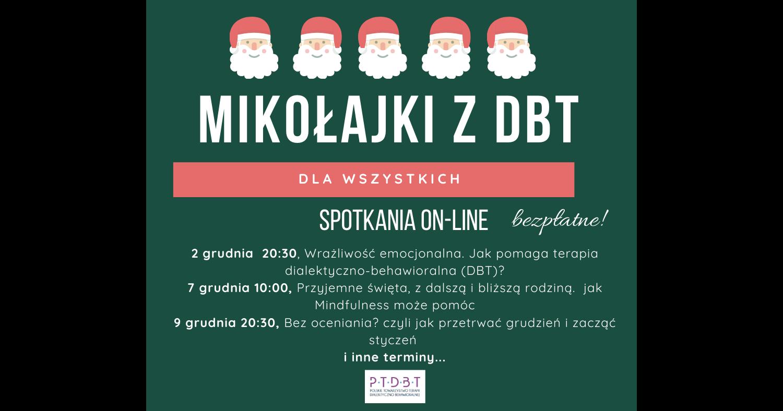 Mikołajki z DBT, Terapią dialektyczno-Behawioralną 2019 grudnia