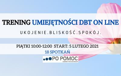 Trening Umiejętności DBT ON-LINE, START 05.02.2021