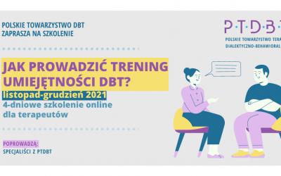 Trening umiejętności DBT, terapii dialektyczno-behawioralnej